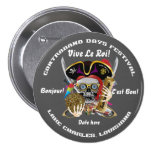 Pirate Contraband Days Round Only Pinback Buttons