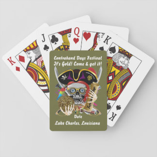 Pirate Contraband Days View about Design Deck Of Cards