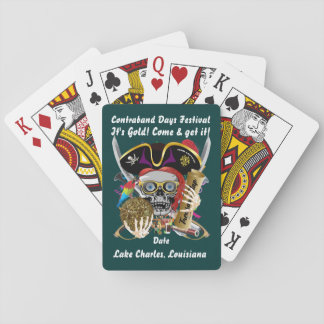 Pirate Contraband Days View about Design Card Deck