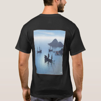 Pirate Cove Black T Shirt