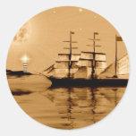 Pirate Cove Classic Round Sticker