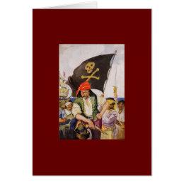 Pirate Crew Card