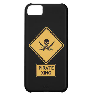 pirate crossing iPhone 5C cover
