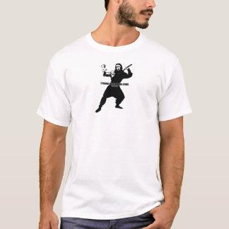 pirate cyborg ninja jesus t-shirt