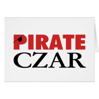 Pirate Czar Card
