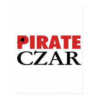 Pirate Czar Postcard