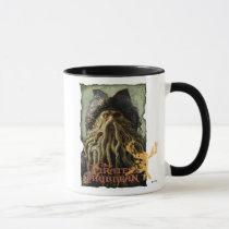 Pirate Davy Jones with Skull Disney Mug