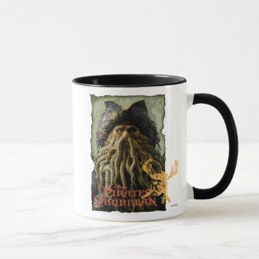 Disney Themed Pirate Davy Jones with Skull Disney Mug