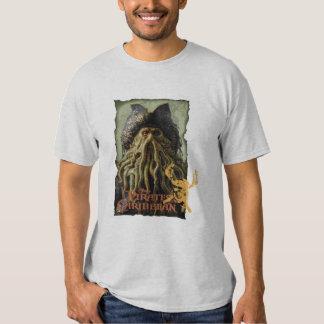 Pirate Davy Jones with Skull Disney T-Shirt