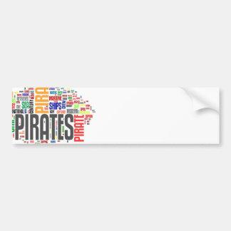Pirate Day Bumper Sticker