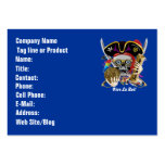 Pirate Days Dual Logo Bicentennial  Pls View Notes Large Business Cards (Pack Of 100)