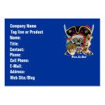 Pirate Days Dual Logo Bicentennial  Pls View Notes Large Business Card