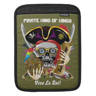Pirate Days Lake Charles Louisiana 30 Colors iPad Sleeve