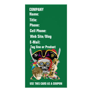 Pirate Days Lake Charles, Louisiana. 30 Colors Photo Card Template