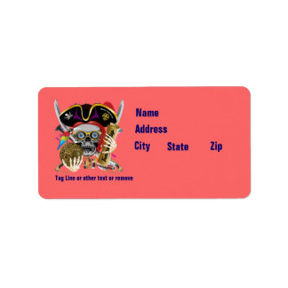 Pirate Days Lake Charles, Louisiana. 50 Colors Label