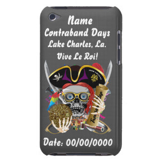 Pirate Days Lake Charles, Louisiana. View Hints Case-Mate iPod Touch Case