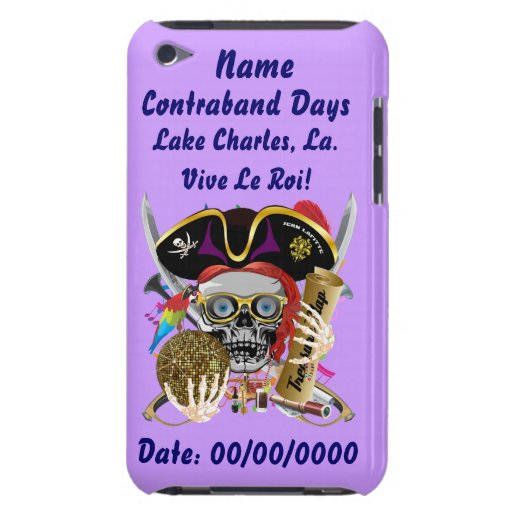 Pirate Days Lake Charles, Louisiana. View Hints iPod Touch Cases
