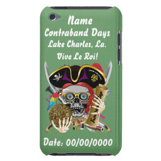 Pirate Days Lake Charles, Louisiana. View Hints iPod Touch Cover