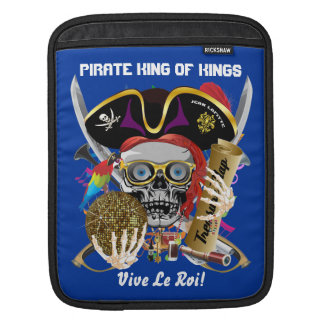 Pirate Days Louisiana 30 Colors Sleeves For iPads