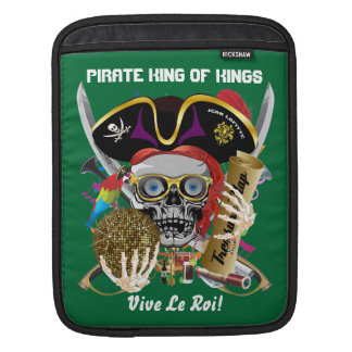 Pirate Days Louisiana 30 Colors Sleeve For iPads
