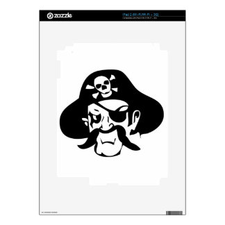 Pirate Decal For iPad 2
