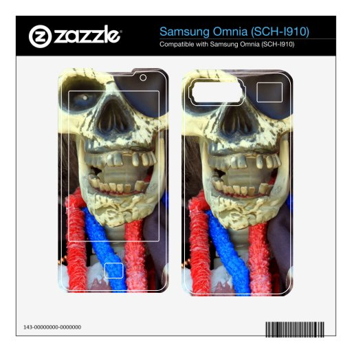 Pirate Decal For Samsung Omnia
