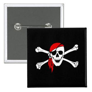 Pirate delicate quality button