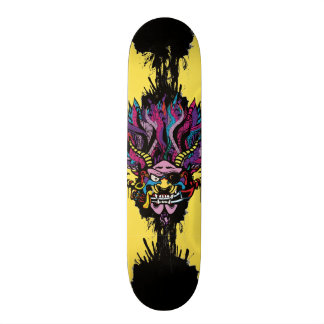 Pirate Demon Warlord Skateboard