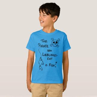 PIRATE Denglisch Kindermund T-Shirt