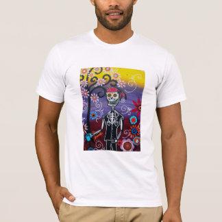 Pirate Dia de Los Muertos T-Shirt