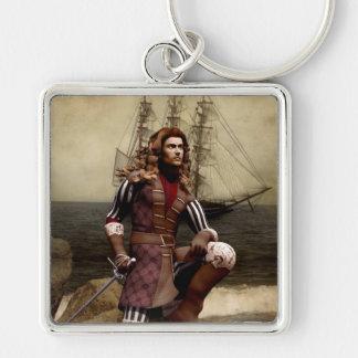 Pirate - Digital Art Keychain