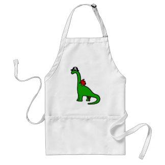 Pirate Dinosaur - Brachiosaurus Adult Apron