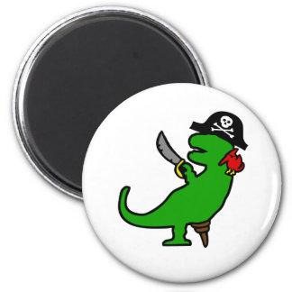 Pirate Dinosaur Magnet