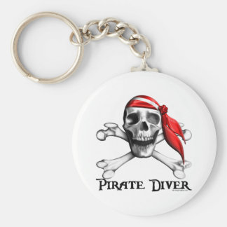 Pirate Diver Keychain