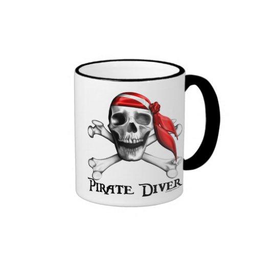 Pirate Diver Mug