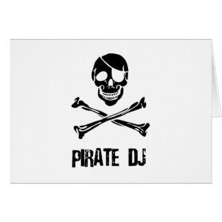 Pirate DJ Card