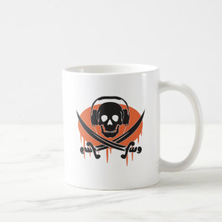 Pirate DJ Coffee Mug