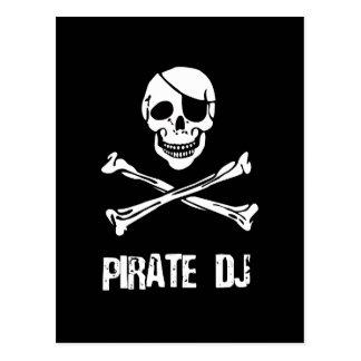 Pirate DJ Postcard