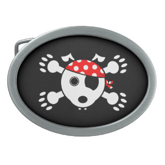 Pirate Dog Belt Buckle