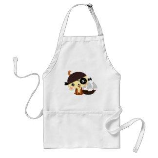 pirate dog kawaii aprons