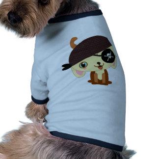 pirate dog kawaii dog t-shirt