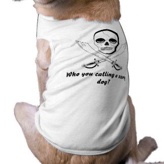 Pirate Dog - Large Size Dog Tee