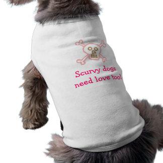 Pirate Dog-Scurvy Dog Dog T Shirt