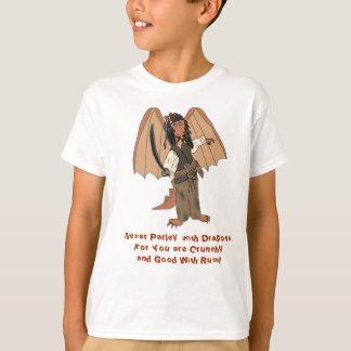 Pirate Dragon Kids T- Shirt