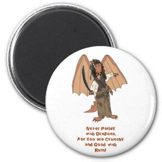 Pirate Dragon Magnet