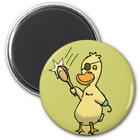 Pirate Duck Magnet