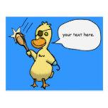 Pirate Duck Postcard