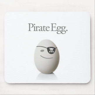 Pirate Egg Mouse Pad