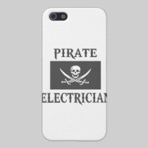 Pirate Electrician iPhone 5 Cases