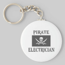 Pirate Electrician Key Chains
